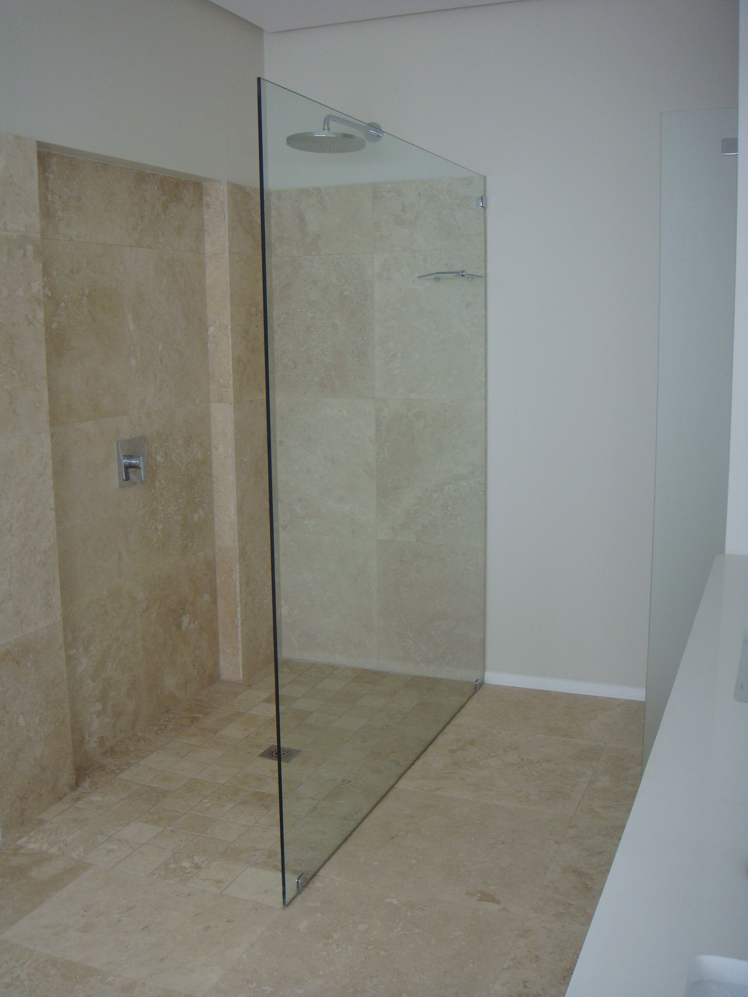 Luxurious Interior Frameless Showers Gridline Architectural Products